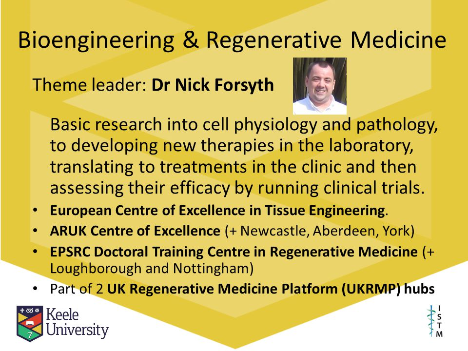 Bioengineering & Regenerative Medicine