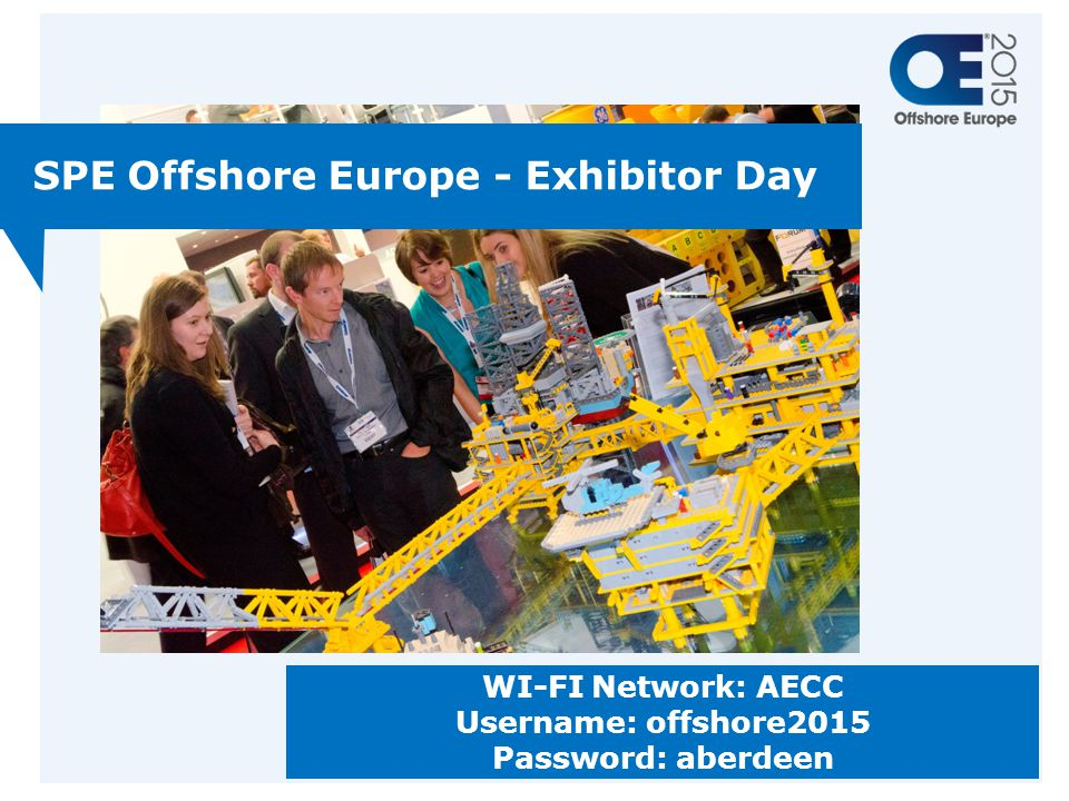 SPE Offshore Europe - Exhibitor Day