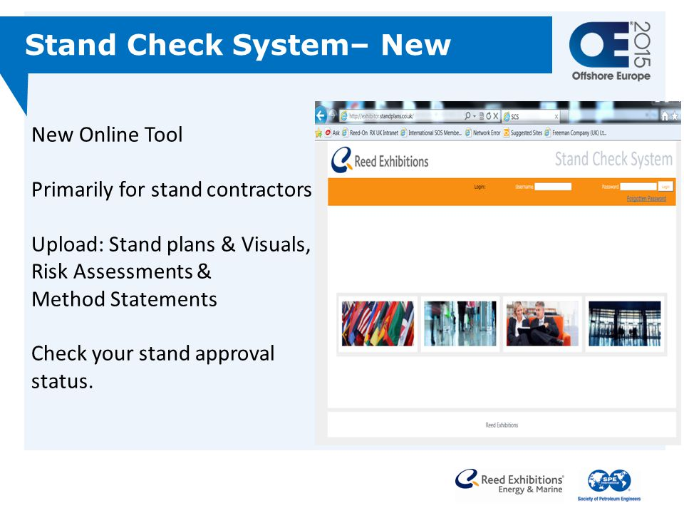 Stand Check System– New