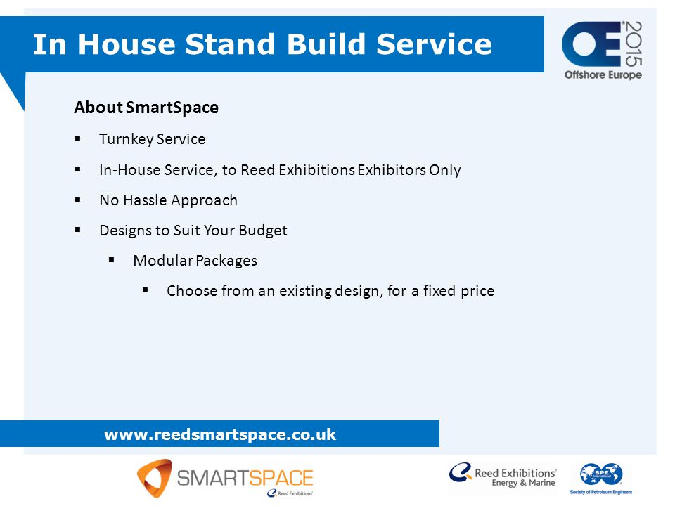 In House Stand Build Service