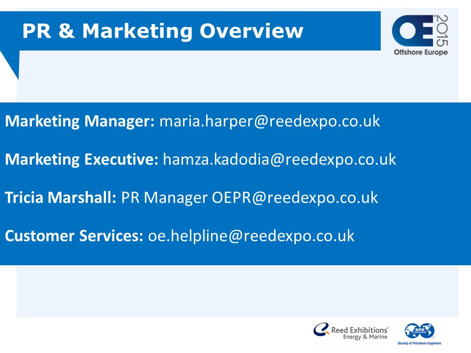 PR & Marketing Overview