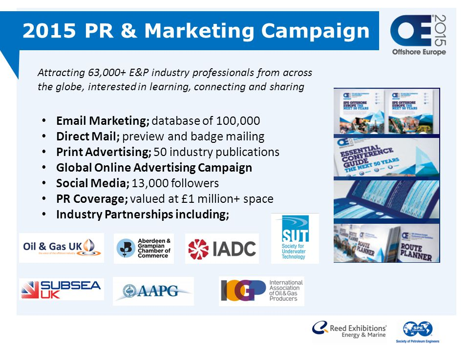 2015 PR & Marketing Campaign