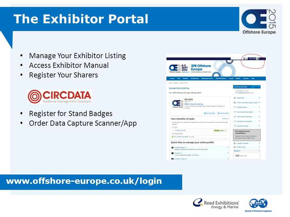 The Exhibitor Portal Manage Your Exhibitor Listing