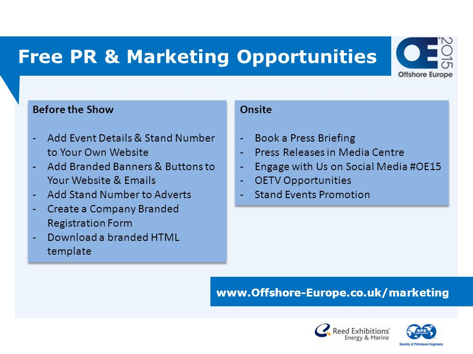 Free PR & Marketing Opportunities