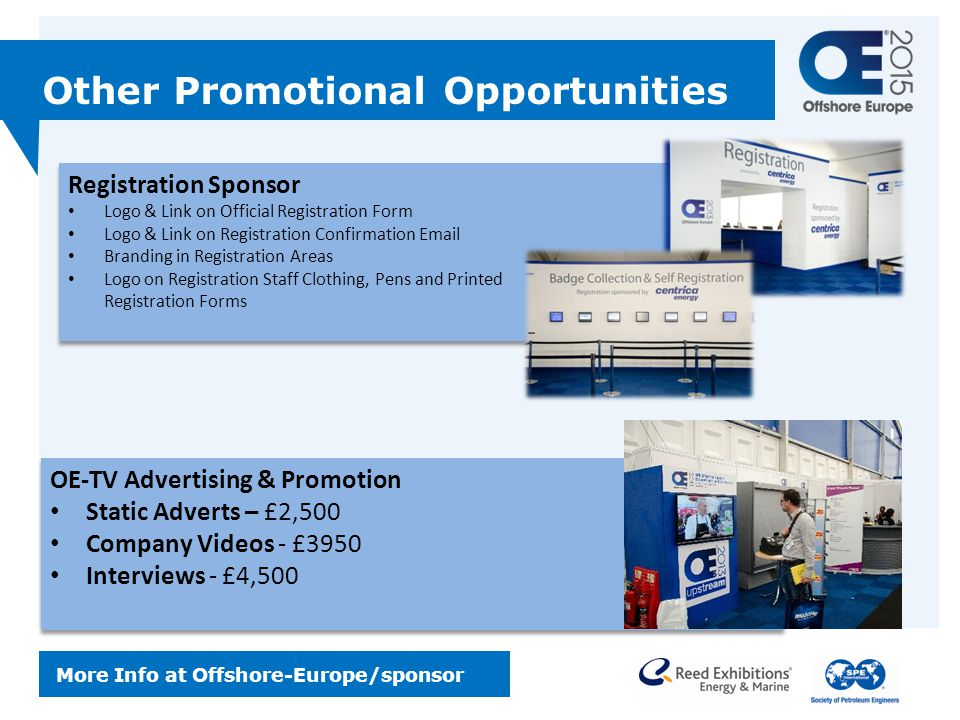 Other Promotional Opportunities