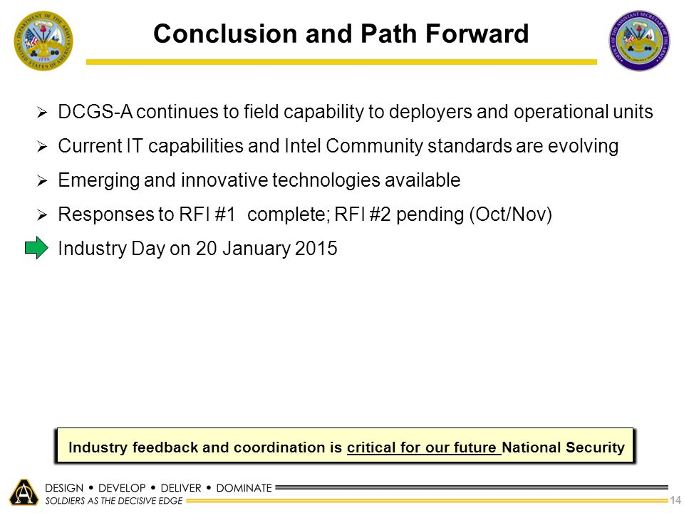Conclusion and Path Forward