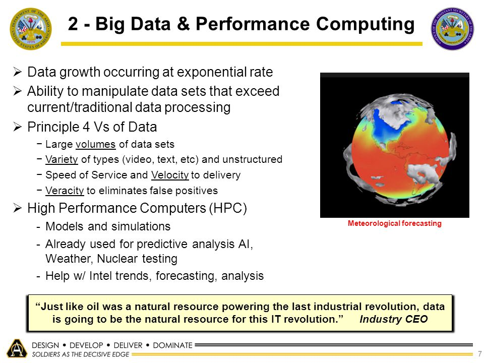 2 - Big Data & Performance Computing