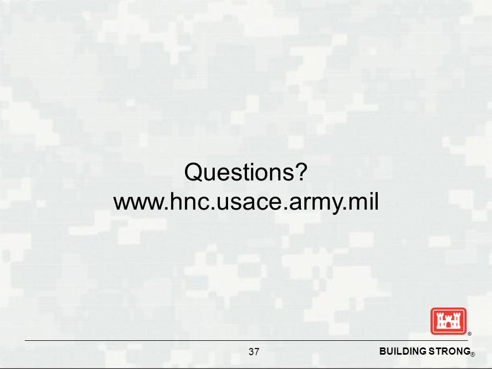 Questions www.hnc.usace.army.mil