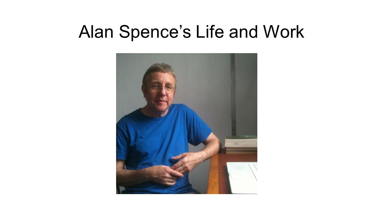 Alan Spence's Life and Work