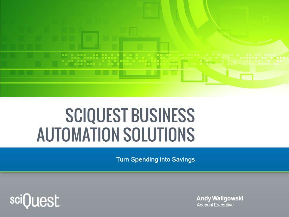 sciquest business automation solutions