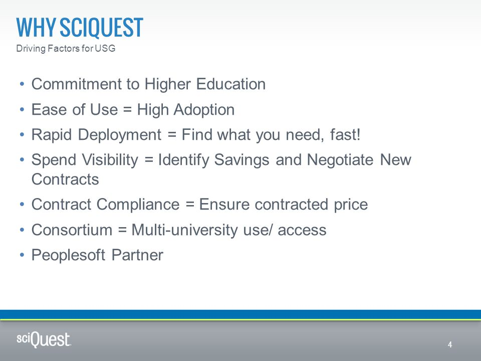 Why sciquest Commitment to Higher Education