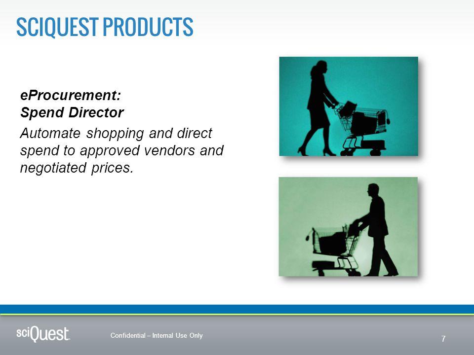 SciQuest Products eProcurement: Spend Director