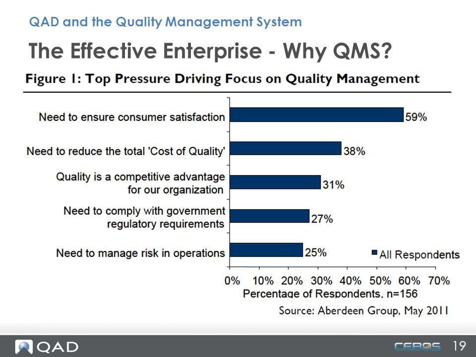 The Effective Enterprise - Why QMS