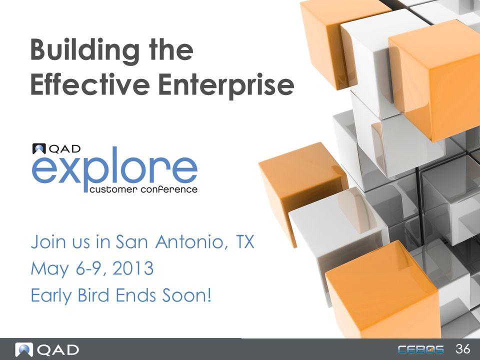 Building the Effective Enterprise
