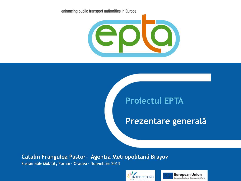 Proiectul EPTA Prezentare generală
