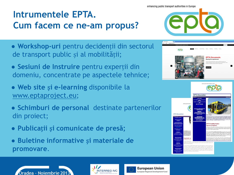 Intrumentele EPTA. Cum facem ce ne-am propus