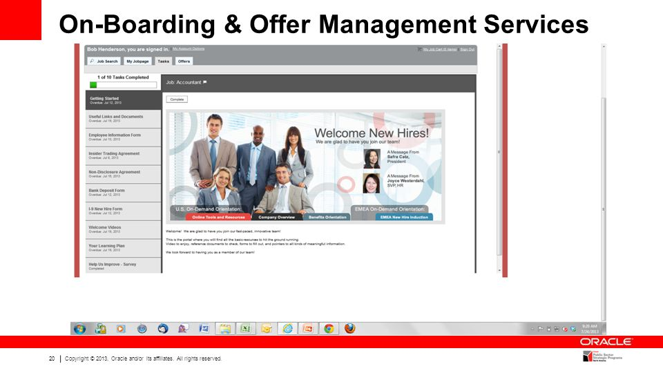 On-Boarding & Offer Management Services