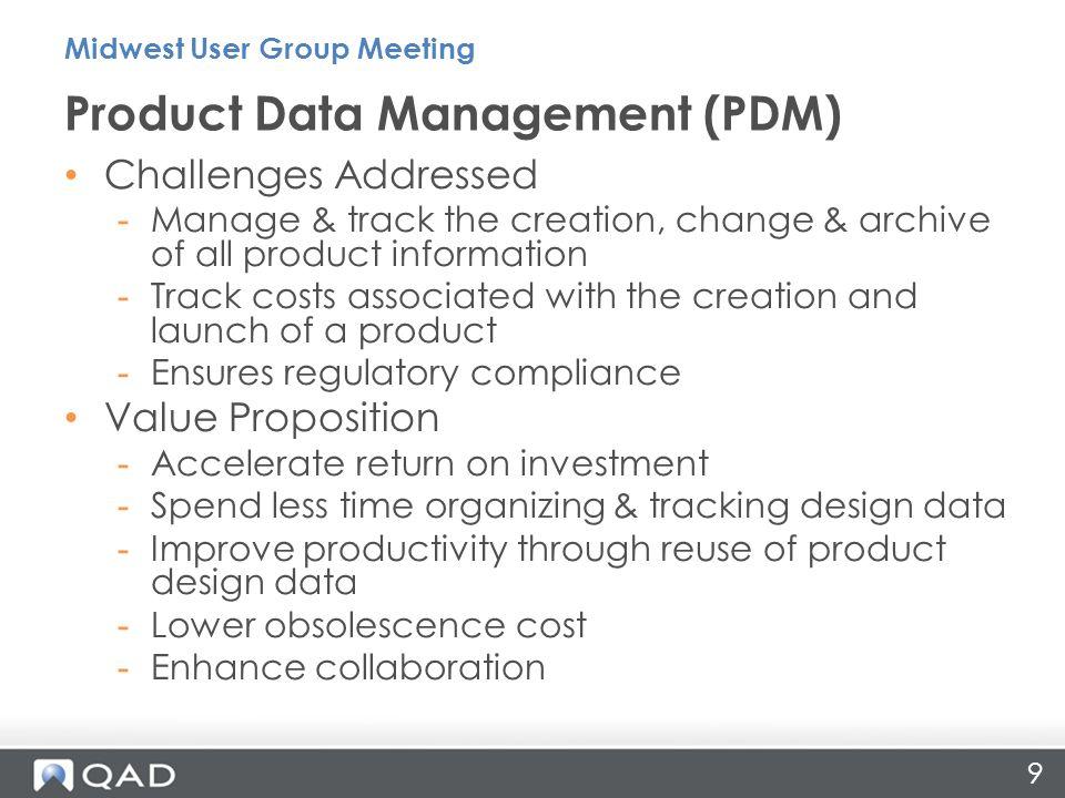 Product Data Management (PDM)