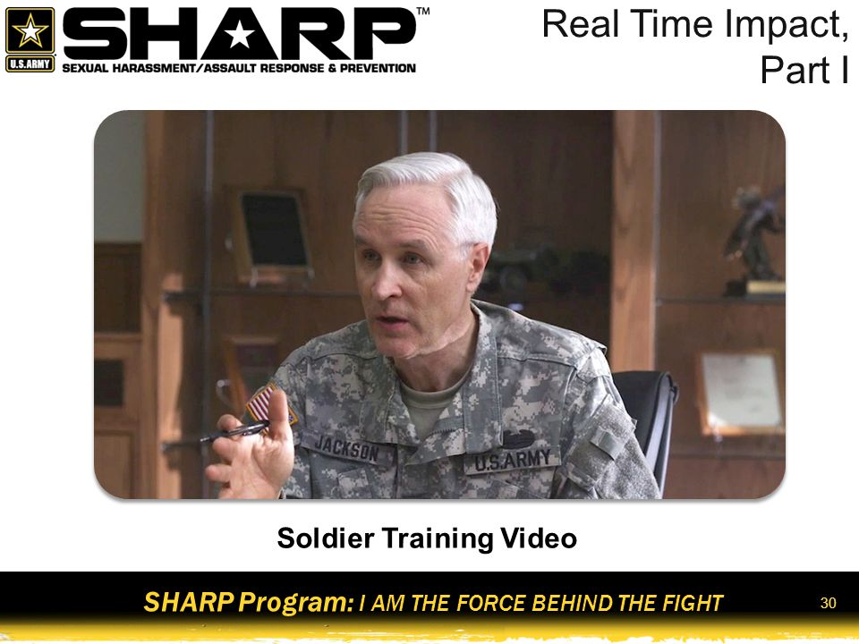 Soldier Training Video