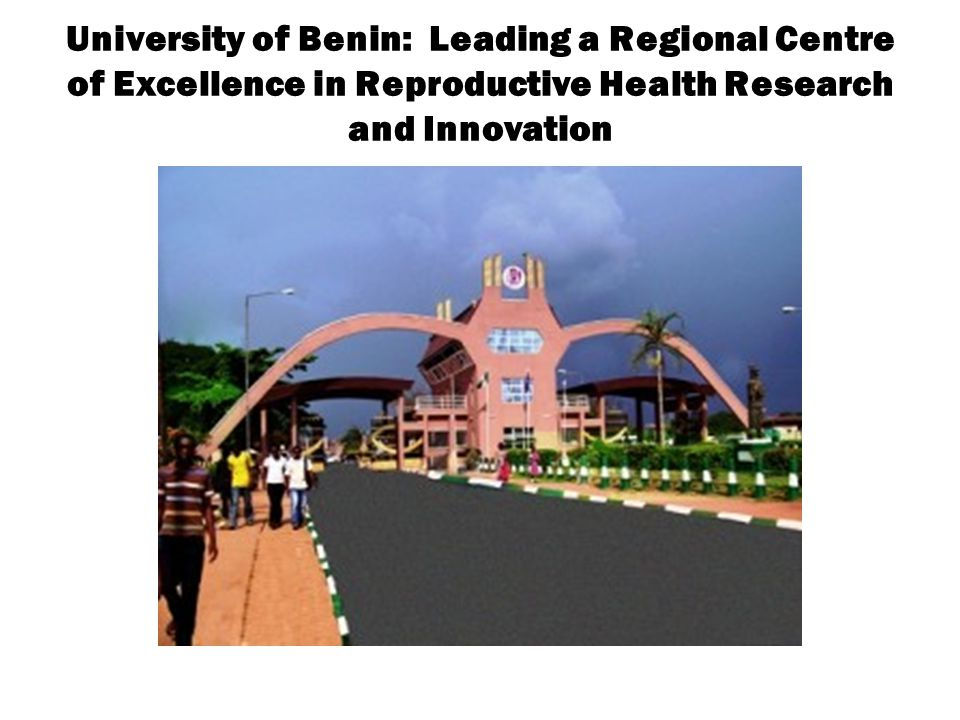 University of Benin: Leading a Regional Centre of Excellence in Reproductive Health Research and Innovation