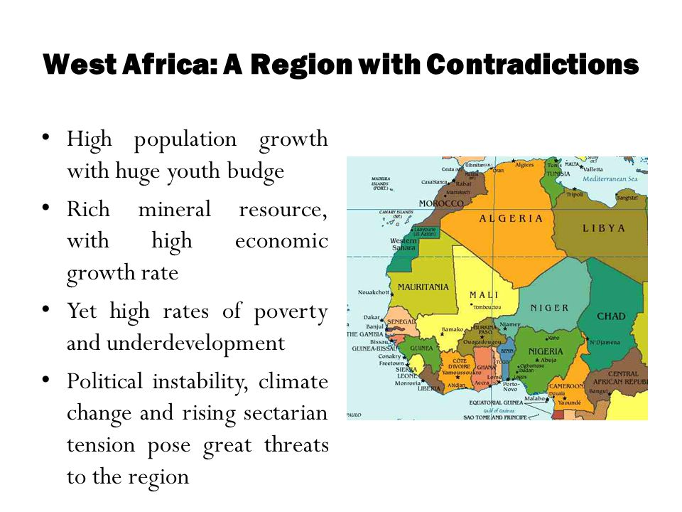 West Africa: A Region with Contradictions