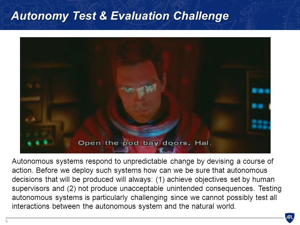 Autonomy Test & Evaluation Challenge