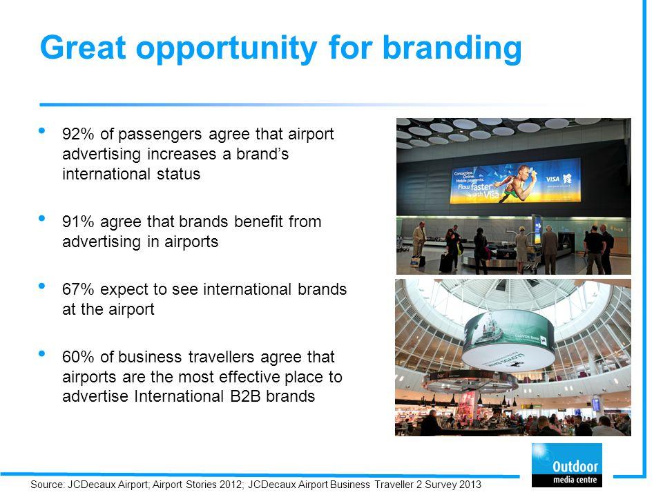 Great opportunity for branding