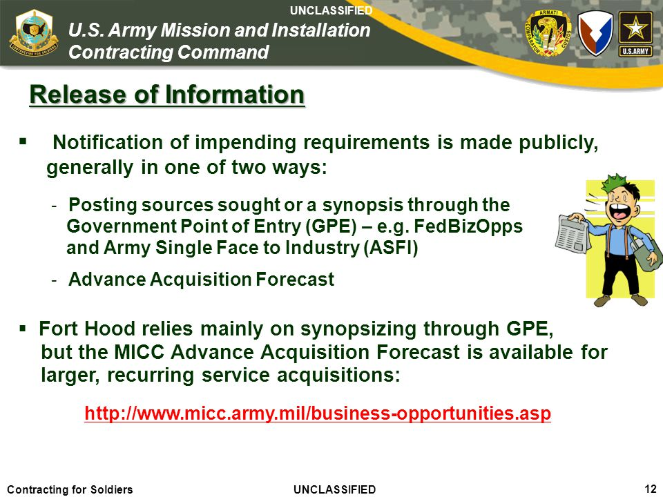 Release of Information