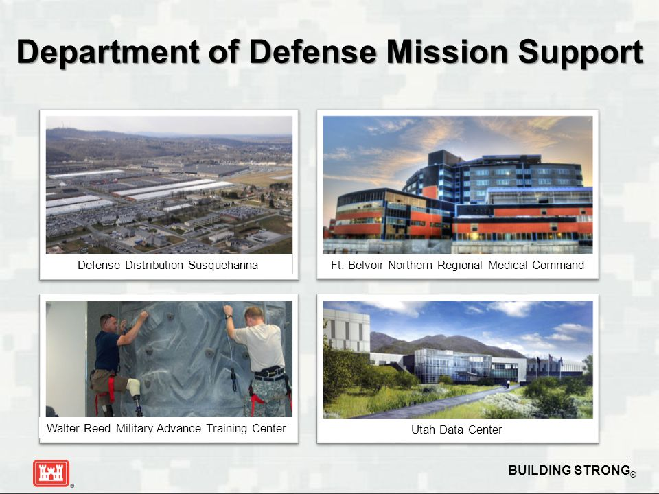 Department of Defense Mission Support
