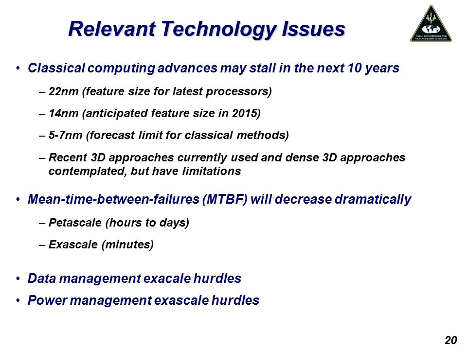 Relevant Technology Issues