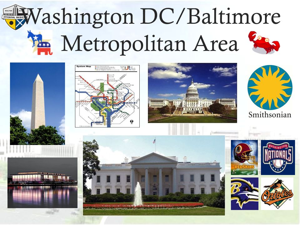Washington DC/Baltimore Metropolitan Area