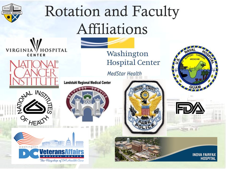 Rotation and Faculty Affiliations
