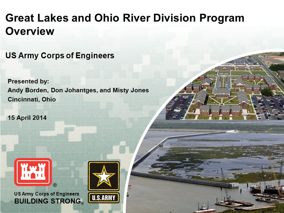 Great Lakes and Ohio River Division Program Overview