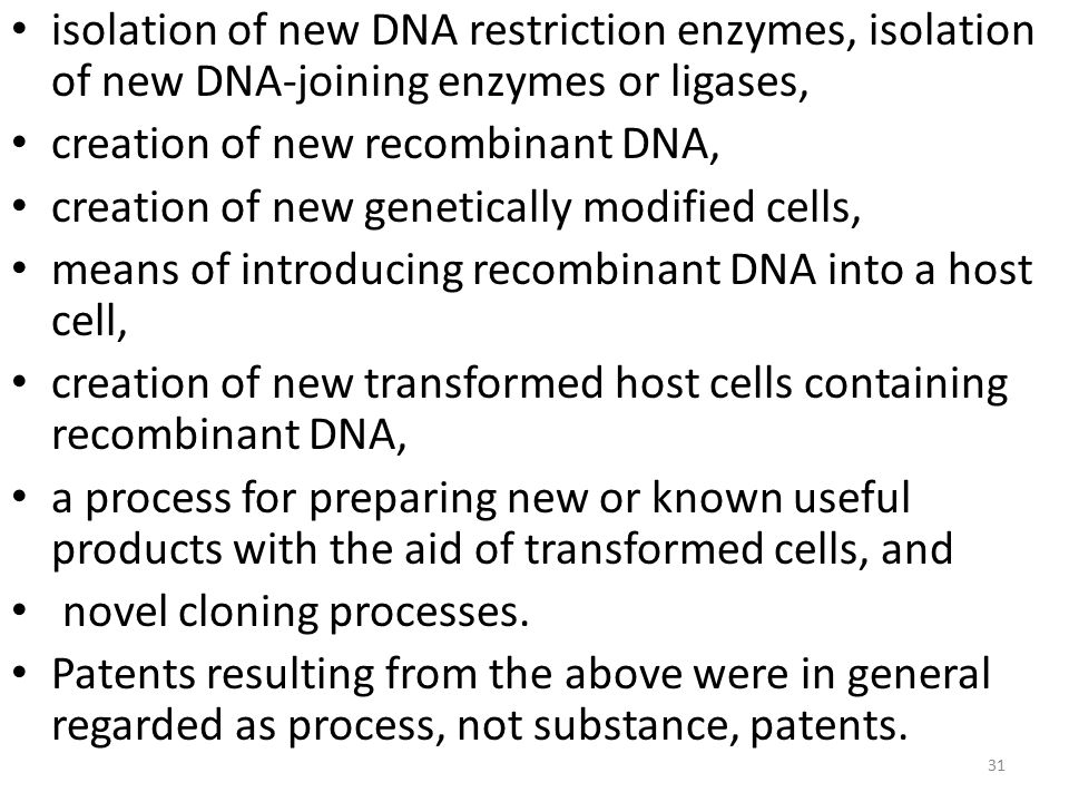 isolation of new DNA restriction enzymes, isolation of new DNA-joining enzymes or ligases,