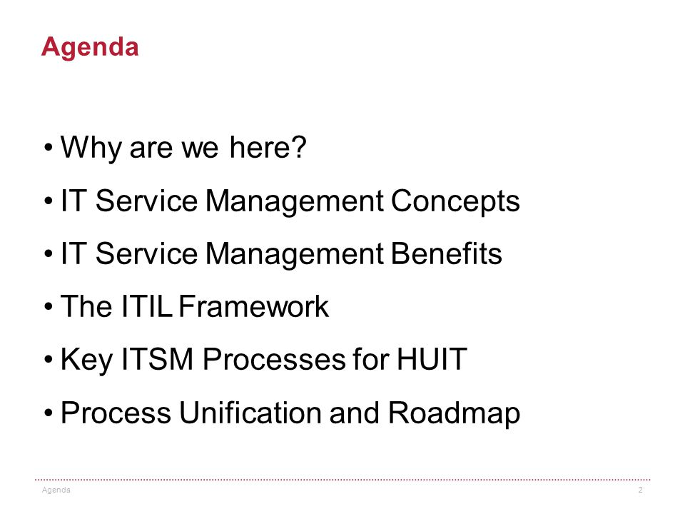 Introduction to ITSM and ITIL