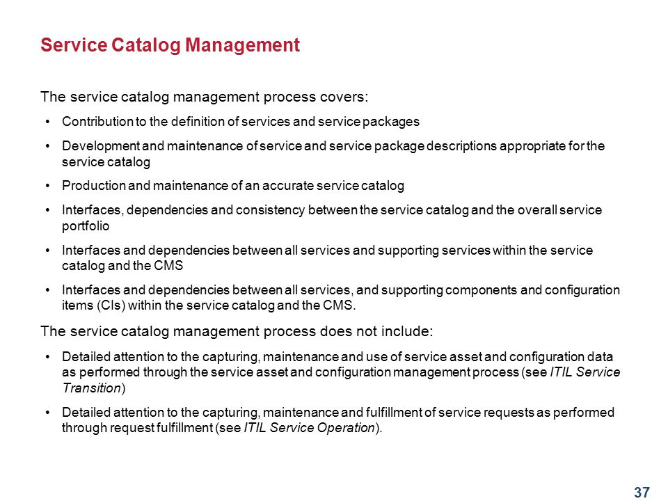 Introduction to itsm and itil ppt download service catalog management malvernweather Images