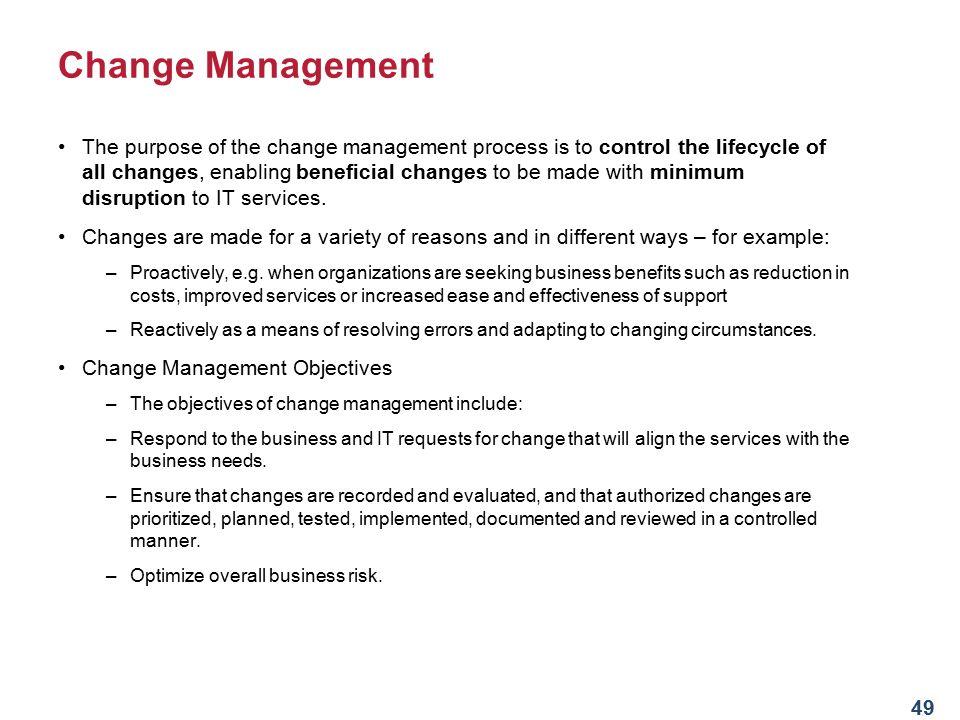 Service Transition Stage