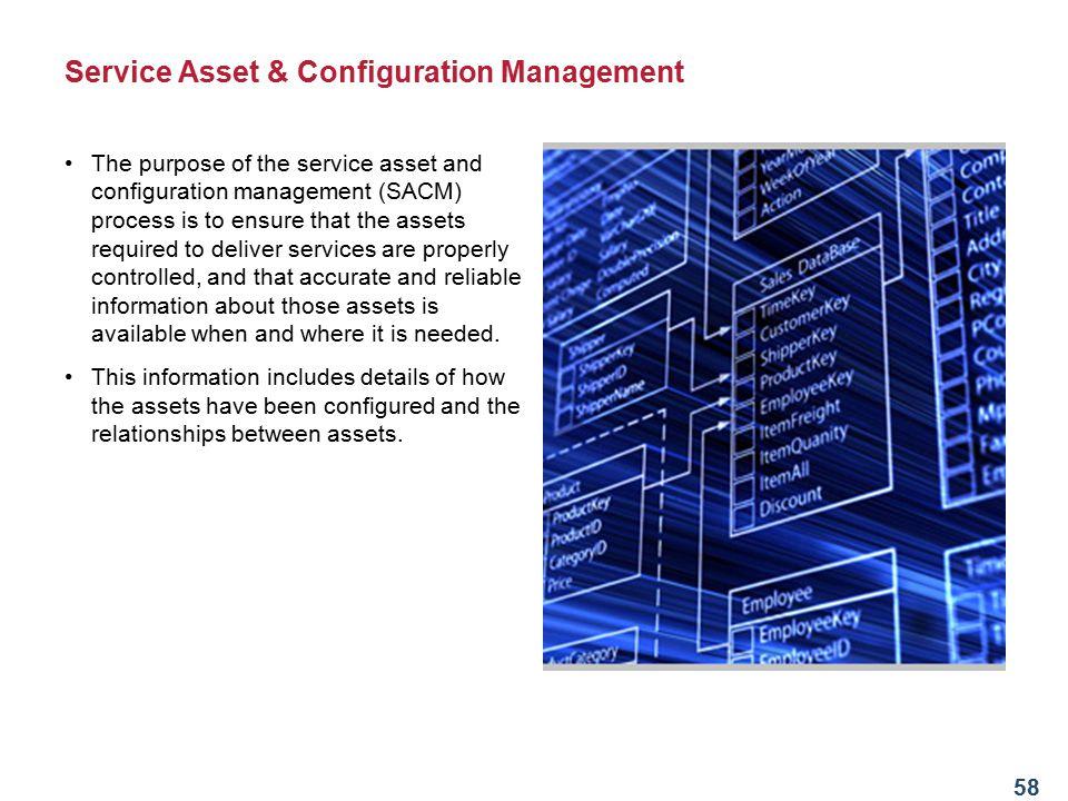Service Asset & Configuration Management