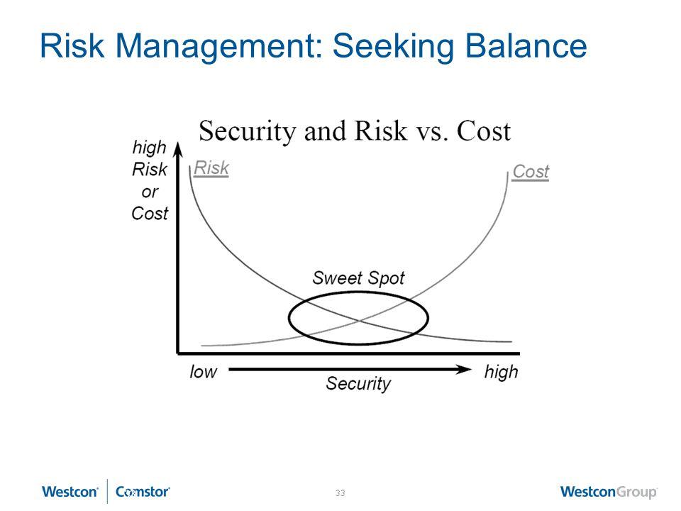 Risk Management: Seeking Balance