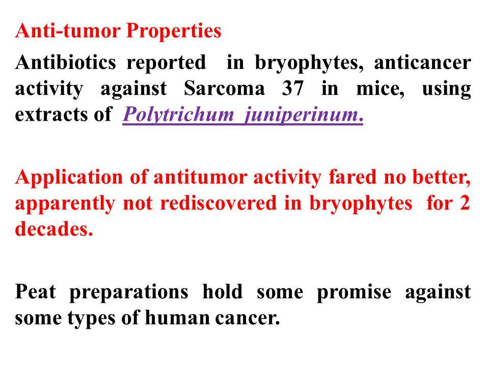 Anti-tumor Properties