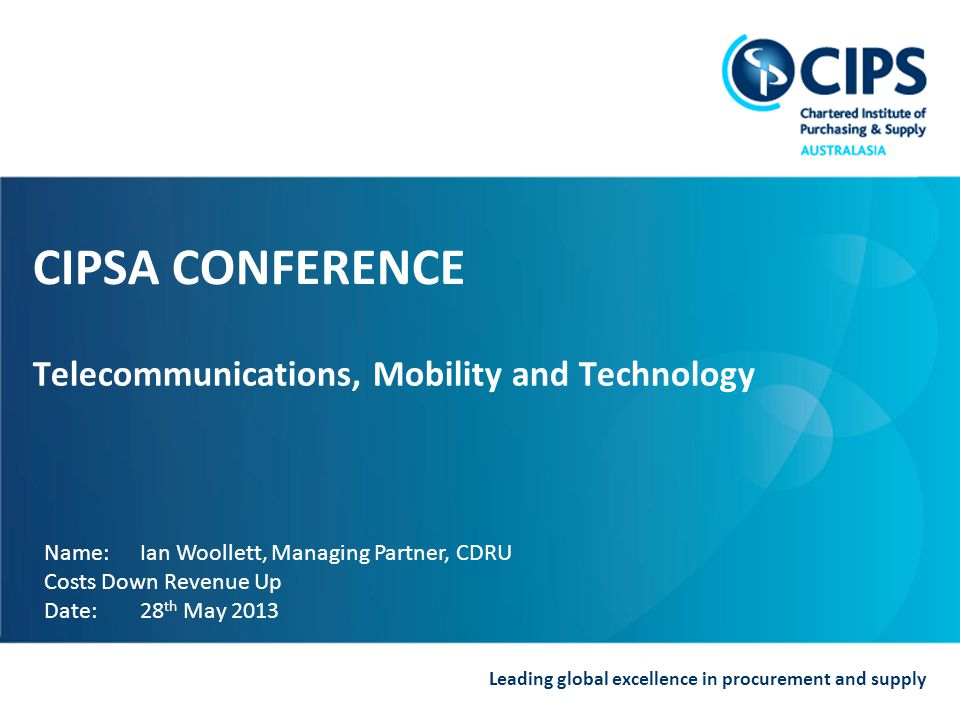 Telecommunications, Mobility and Technology