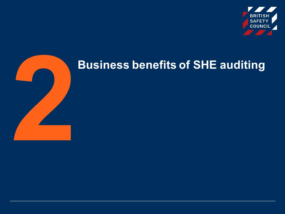 Business benefits of SHE auditing