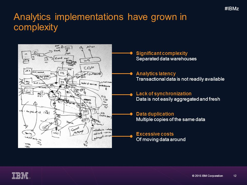 Analytics implementations have grown in complexity
