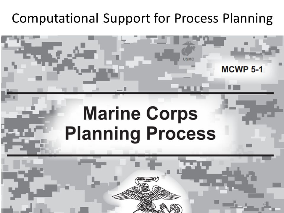 Computational Support for Process Planning