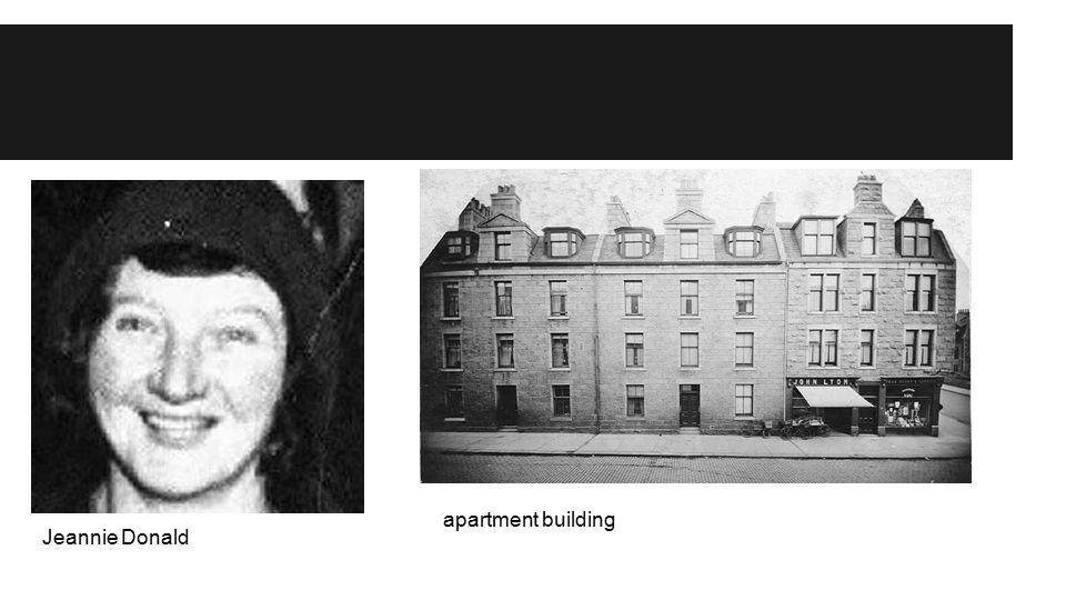 apartment building Jeannie Donald