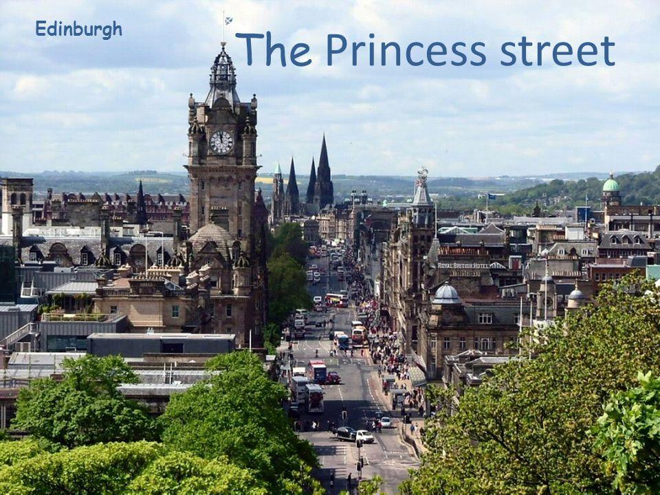 Edinburgh The Princess street