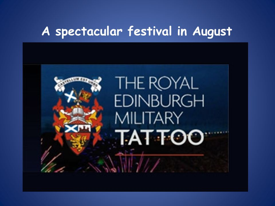 A spectacular festival in August
