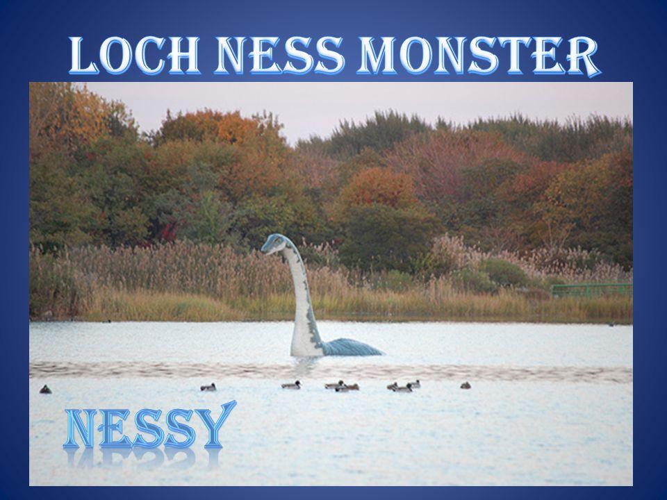 Loch ness monster nessy