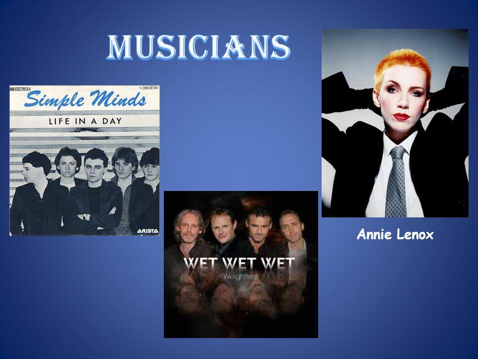 musicians Annie Lenox