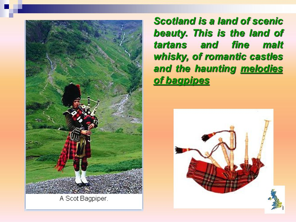 Scotland is a land of scenic beauty